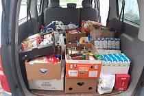 Charita pořádá potravinovou sbírku.