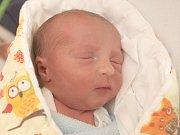 Nikolas Mikel, 49 centimetrů, 2,49 kilogramu, 30. 10. 2016, Blansko, narozen ve FN Brno