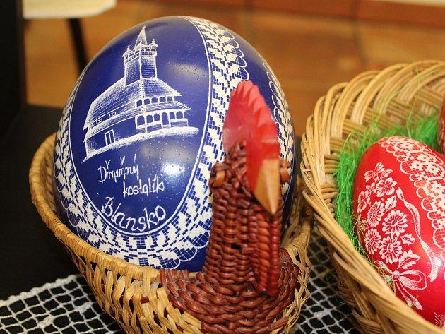 Velikonoční výstava na zámku v Blansku. Foto: Jana Štégnerová