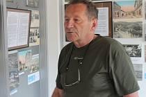Galerista Pavel Svoboda.