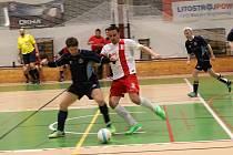 Futsalisté FPO Blansko před domácími diváky nedali soupeři z Brna šanci a vyhráli jasně 11:1.
