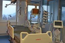 Anesteziologicko-resuscitační oddělení v Nemocnici Boskovice.
