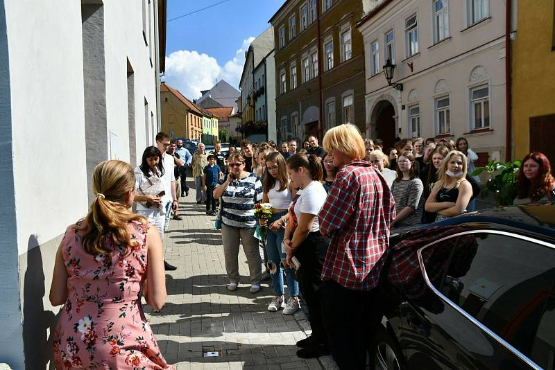V Boskovicích umístili další Kameny zmizelých. Připomínají dětské oběti holocastu.