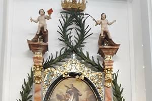 Oltář sv. Jana Nepomuckého v kostele sv. Jeronýma ve Křetíně uspěl v soutěži Nejlépe opravená památka Jihomoravského kraje v roce 2019. V kategorii díla výtvarného umění obsadil druhé místo.