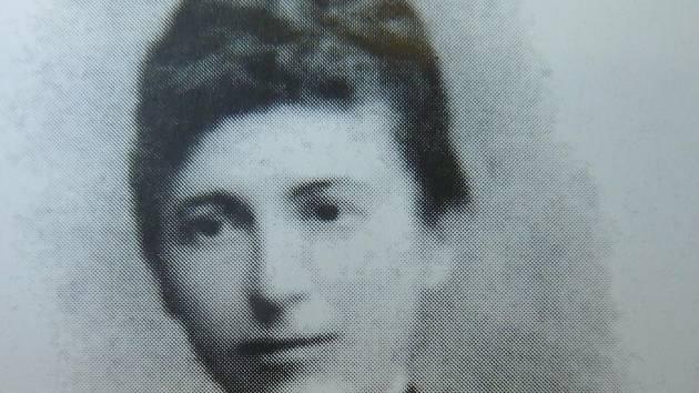 Karla Absolonová-Bufková.