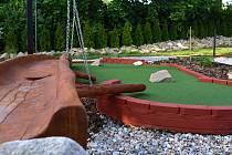 Adventure golf. Ilustrační foto.