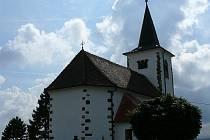 Kostel ve Vískách.
