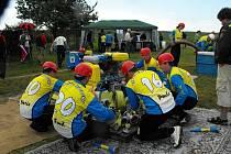 Sbor dobrovolných hasičů z Ostrova u Macochy.
