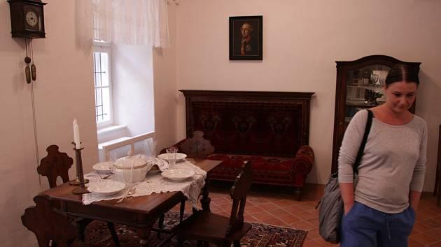 Otevření bývalého rabínského domu v Boskovicích.