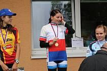 Mistrovství republiky mládeže v cyklistice v Benešově.