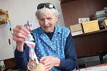 V roce 1948 startovala sprinterka a několikanásobná československá rekordmanka Olga Oldřichová Šicnerová na olympiádě v Londýně. Na stovce skončila v semifinále. Na dvoustovce v rozběhu upadla a nedokončila.