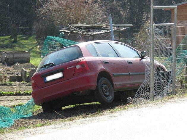 Nehoda se stala krátce před čtvrtečním polednem