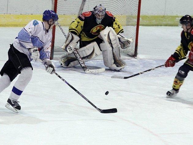 Blanenští hokejisté si připsali třetí vítězství v řadě. Tentokrát porazili Brumov.