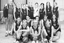 Blanenský volejbalový tým.