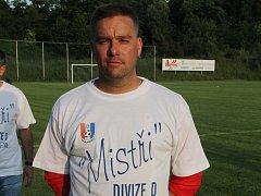 Fotbalista Petr Švancara po posledním utkání v dresu Blanska.