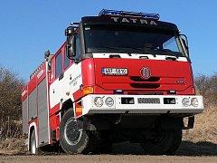 Bořitovští hasiči mají od roku 2007 Tatru 815.