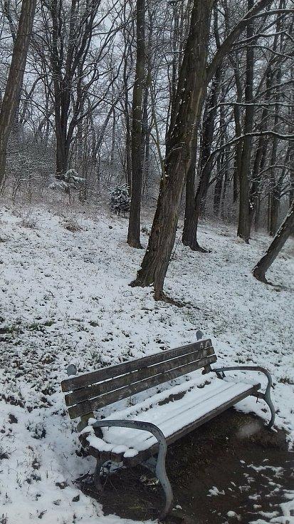 Do Blanska se na samém začátku jara vrátila zima.