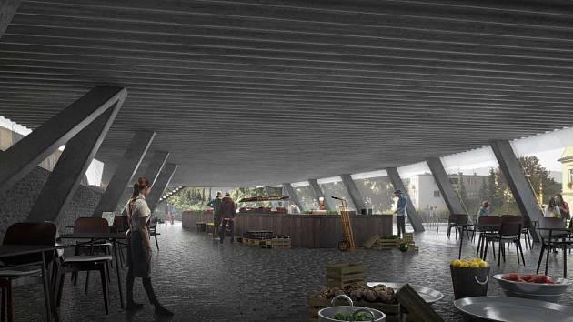 Byty, skautské klubovny, podzemní parkoviště pro dvaatřicet aut a střešní park. Moderní budova v kombinaci betonu, dřeva a hliníku. Chilský architekt Smiljan Radić, který navrhl řadu staveb v Evropě, představil Boskovickým studii na zástavbu proluky v lok