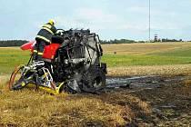 Požár způsobil škodu za téměř milion a půl korun. Do hodiny se ho hasičům podařilo zneškodnit.