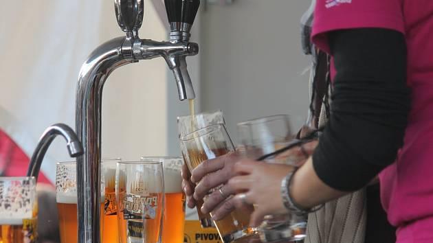 Pivní pouť v Černé Hoře. Ilustrační foto.