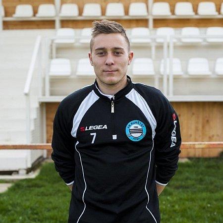Fotbalový talent Pavel Blaha.