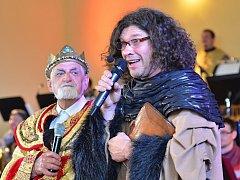 Osmá show Velkého dechového orchestru Základní umělecké školy Letovice se odehrávala v kulisách z doby Karla IV.