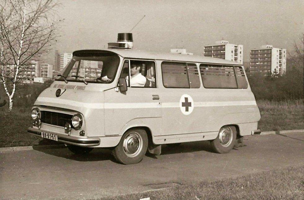 """Pohled na populární """"dvanáctsettrojku"""", která záchranářům sloužila dlouhé desítky let."""