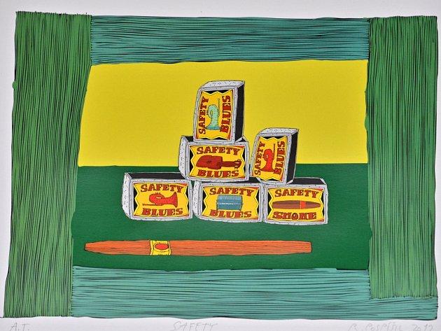 Výstava Rostislava Pospíšila v letovické galerii PEX