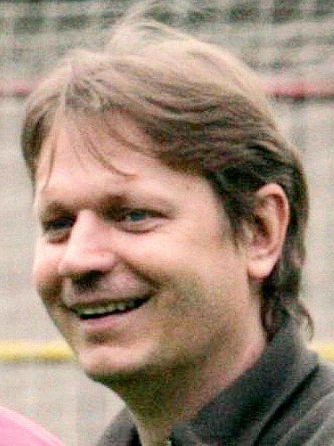 Trenér divizního Blanska Tomáš Šenk.