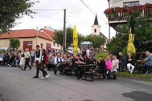 Tradiční hody v Kozárově.