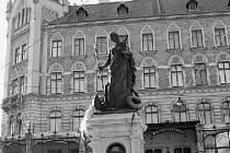Zdobená kašna stojí od roku 1836 ve Vídni na náměstí Margaretenplatz. Kašnu vyšperkovala litinová socha svaté Markéty, kterou odlili ve 30. letech 19. století slévači blanenských železáren.