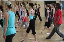 Letní semináře jazzového tance mají v Boskovicích tradici. Letos pod vedením lektora Davida Strnada tanečníci pilovali kroky již podeváté.