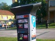 Nový parkovací automat v Blansku.