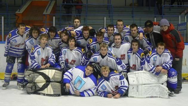 Hokejoví junioři HC Blansko vyhráli devátý ročník Valach Cupu ve Valašském Meziříčí.