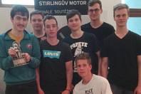 Tým jedovnických studentů včetně Matěje Novotného fungoval jako firma. Na soutěži zazářil s motorem.