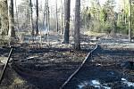 V pondělí odpoledne vyjížděli hasiči na Blanensku hned k deseti požárům.