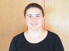 Čtrnáctiletá Vendula Závodníková vyniká ve hře na akordeon. Nedávno s ním zvítězila na celostátní soutěži základních uměleckých škol. Hraje i na basovou kytaru.
