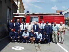 Dobrovolní hasiči z Šebetova