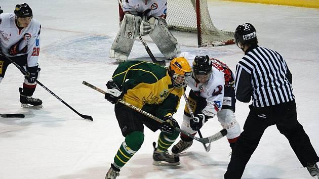 Hokejisté Techniky Blansko prohráli doma ve druhé lize se Vsetínem 0:2.