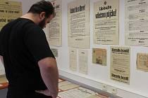 Státní okresní archiv při dni otevřených dveří přiblížil v dokumentech život na Blanensku v období první světové války.