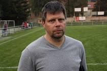 Trenér fotbalistů Rájce Radek Sedláček.