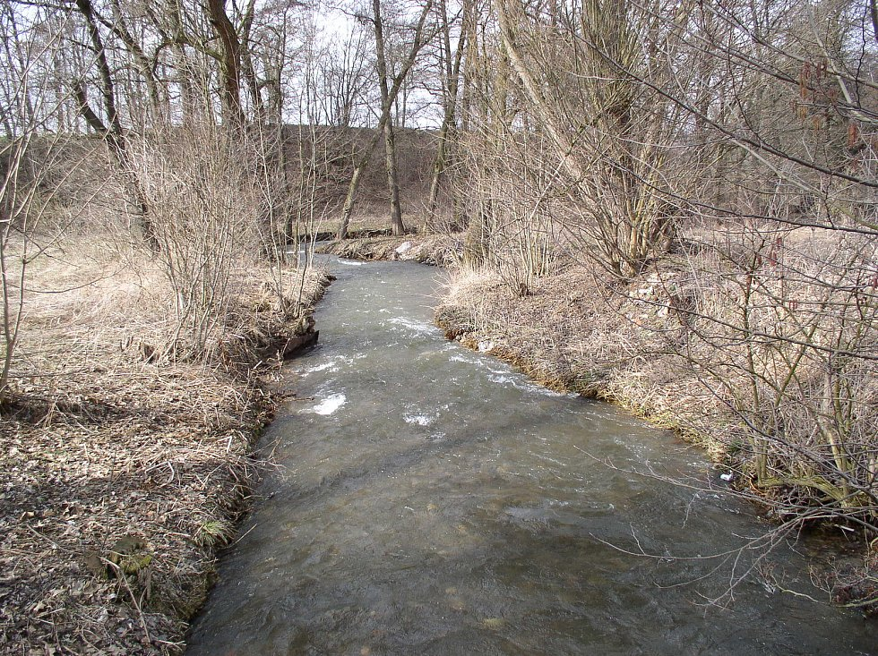 Potok Úsobrnka.