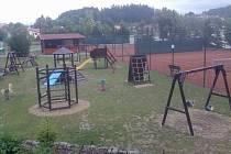 Nové hřiště v Jedovnicích