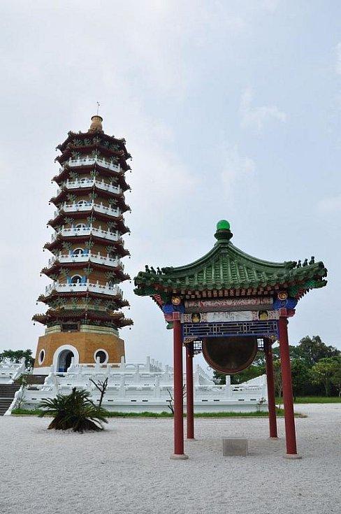 pagoda u jezera
