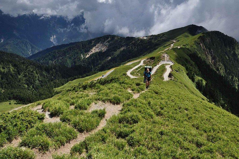 výstup na horu Hehuanshan