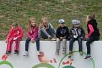 Adamovští pravidelně pořádají setkání s prvňáčky, kde malé školáky pobaví a zároveň naučí něco nového.