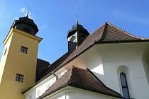 Kostel v Roubanině pochází ze třináctého století.
