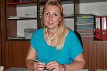 Starostka Sudic Olga Dočkalová.