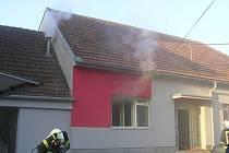 Hořelo v lysické ulici Potoky.