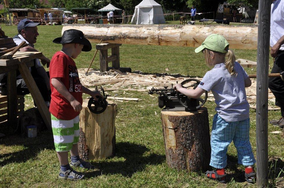 Kunštátskou Panskou zahradu o víkendu ovládly sedmé Svátky řemesel.